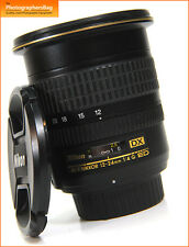 Nikon AF-S 12-24mm F4 G ED Nikkor Wide Angle Lens Free UK Post