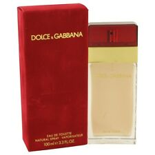 Dolce & Gabbana 3.4 oz EDT for Women New In Box 100ml Discontinue Sealed