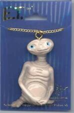 ET E.T. Extra Terrestrial Figure Necklace 1982 near Mint Sealed