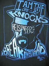 NEW Breaking Bad Walter White Heisenberg THE ONE WHO KNOCKS Mens Shirt 2XL -E12
