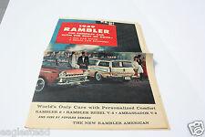 Auto Brochure - American Motors  - Rambler - 1959 (AB492)