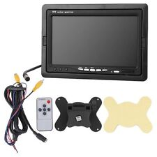 """7 """"Car Car TFT Color Monitor for VCD DVD GPS Rear View Camera + Remote CT C F7U5"""