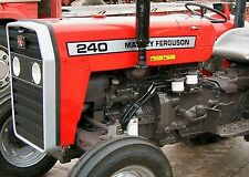 Massey Ferguson 230 - 235 - 240 & 250 Tractor Workshop Manuals - 200 Series