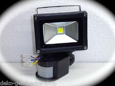 10 Watt SMD reflector LED Foco con Sensor Movimiento exterior Lámpara de jardín
