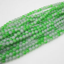 Jewelry 100pcs 4mm Glass crystal Beads for Fit Bracelets Necklaces Green TTE67