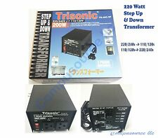 New 200 W Watt Step Up/Down Voltage Converter Transformer Adapter 110V to 240V