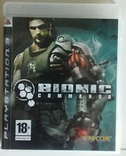 Bionic Commando. Ps3. Fisico. Pal Es