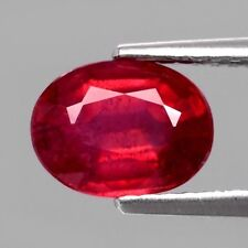Only! $33.26/1pc 8x6mm Oval Natural Top Red Ruby, Mozambique