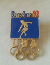 1992 Barcelona Olympic 92 Football  Pin