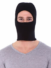 Men Black Tactical Warm Skin Mask Face Ski Cap Face Protector One Hole Balaclava