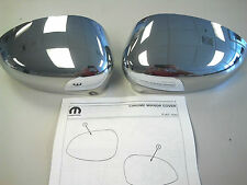 2012-2015 FIAT 500/500C Chrome Side Mirror Covers OEM 82212366