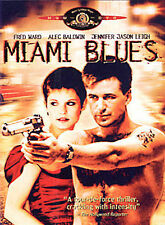 Miami Blues (DVD, 2002)-OUT OF PRINT-ALEC BALDWIN-BLACK COMEDY ACTION FILM-NEW