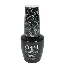 Opi Soak Off Gelcolor Polish GC H91 Never Have Too Mani Friend .5oz Hello Kitty