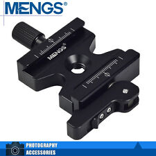 MENGS CL-50LS Quick Release Clamp w/ Adjustable Lever + Knob For Ballhead/Tripod