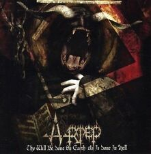 Artep - Thy Will Be Done on Earth as is Done in Hell CD 2010 black metal Canada