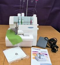 CONSEW 14TU858 HEAVY DUTY COVERSTITCH SERGER SEWING MACHINE