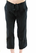Hamish Morrow Satin Cargo Pants Trousers Black Size M BCF511