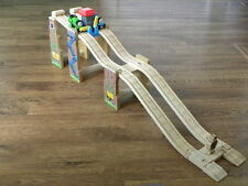 BRIO/ELC THOMAS WOODEN START YOUR ENGINES RACE SET for WOODEN Toy TRAIN SETS
