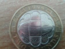 **RARE** £2 COIN TWO POUND COIN RUGBY WORLD CUP 1999 CIRCULATED