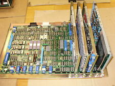 FANUC  MASTER PC BOARD A16B-1000-0030 WITH CONTROL, INTERFACE, BMU, ROM BOARDS