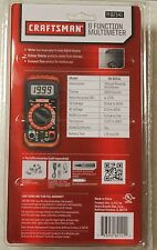 Craftsman 8 Function  20 Range Digital Multimeter BRAND NEW!!