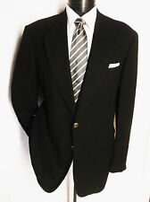 Canali Diagonal pattern Black  2Button Sport Jacket Size 40R Made in Italy