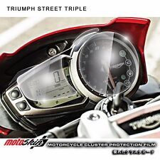 Cluster Scratch Protection Film / Shield for Triumph Street Triple / R / RX