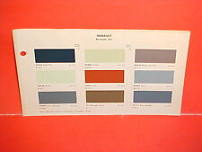 1963 1964 RENAULT CARAVELLE S CONVERTIBLE COUPE DAUPHINE R8 1100 PAINT CHIPS
