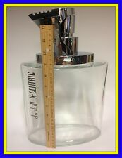 """DUNHILL X-CENTRIC HUGE GLASS FACTICE PERFUME BOTTLE """"EMPTY"""""""