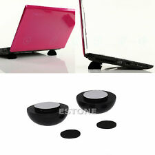 High Quality Laptop Notebook Cool Ball Cooler Stand + Skidproof Pad