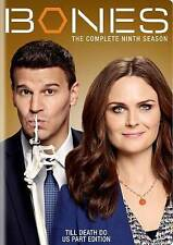 Bones: The Complete Season Nine (DVD, 2014, 6-Disc Set) Season 9  Free Shipping
