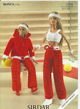 CROCHET PATTERN Fashion DOLLS CLOTHES 11 inch / 28cm DOLL OUTFIT