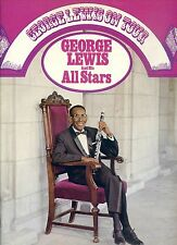GEORGE LEWIS AND THE ALL STARS on tour GERMAN EX 2LP