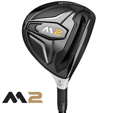 """NEW 2016"" TAYLORMADE M2 16.5 DEGREE 3HL FAIRWAY WOOD REGULAR REAX SHAFT + COVER"