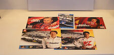INDY FORMULA 1 Racing Autographed Lot Fittipaldi da Matta +++
