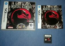 Ultimate Mortal Kombat (Nintendo DS) Boxed with manual. VGC. Fast and Free P+P.
