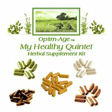QUINTET 5 ORGANIC HERBS NRF2 Pathway Synergizer ANTI-AGING 120 Day Tea Turmeric+