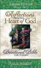 Reflections from the Heart of God: Devotional Bible for Women (Burgundy Bonded