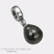 Authentic Pandora Sterling Silver Black Faceted Beauty Bead 791602CBK