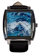 Dolphin Wrist Watch - Vegan Watch - Comes in Tin - From My Painting, The Kiss