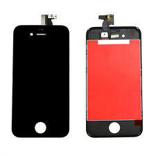 TOUCH SCREEN + LCD DISPLAY RETINA + FRAME PER APPLE IPHONE 4S NERO VETRO SCHERMO