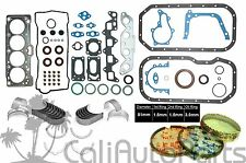 FITS: 88-93 Toyota Celica Corolla 1.6L 4AF 4AFE DOHC FULL SET *RE-RING KIT*
