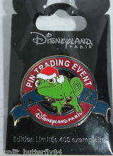 DISNEY TANGLED RAPUNZEL PASCAL TRADING EVENT LOGO CHRISTMAS LIMITED EDITION PIN