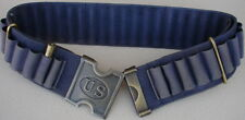 "Replica  Span. Am. War...45-70 BLUE Web Cartridge Belt & US ""H"" Buckle"