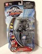 retired VVVHTF Bandai Power Rangers RPM Full Throttle SILVER RANGER NIP launcher