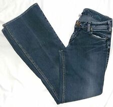 SILVER Jeans AIKO Super Low Rise Bootcut 27/30 Dk.Rinse Lowrise