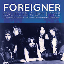 FOREIGNER New Sealed 2017 UNRELEASED 1978 LIVE CALIFORNIA CONCERT CD