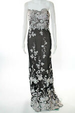 Marchesa Notte Multi-Color Fontaine Gown Size 0 New $1395 10184595