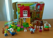 Lego duplo 4974 + 4972 - 100%complet HORSE STABLES + ANIMALS