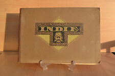 #Old Trade Card Book#1929 Scrapbook Dutch Indonesia Coffee Tea Cocoa Advertising